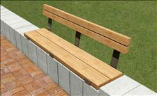 Central Park 2030 Wall-top Bench