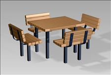 2050 Table and Chairs