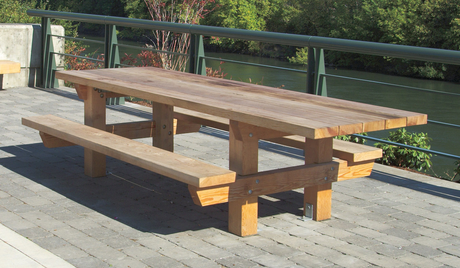My ideas free large round picnic table plans for Diy garden table designs