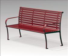2624-6-ADA Accessible Bench with Armrests
