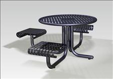2977-3 Renaissance Accessible Integral Table with Three Seats
