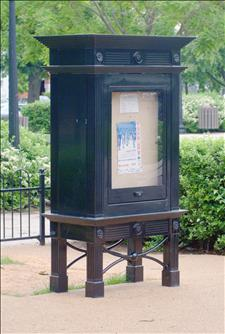 Custom Kiosk, National Park Service