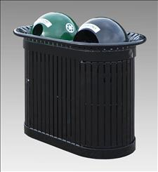 2817-22 Renaissance Litter/Recycling Container